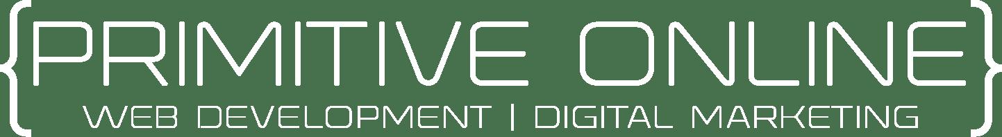 Primitive Online Logo White