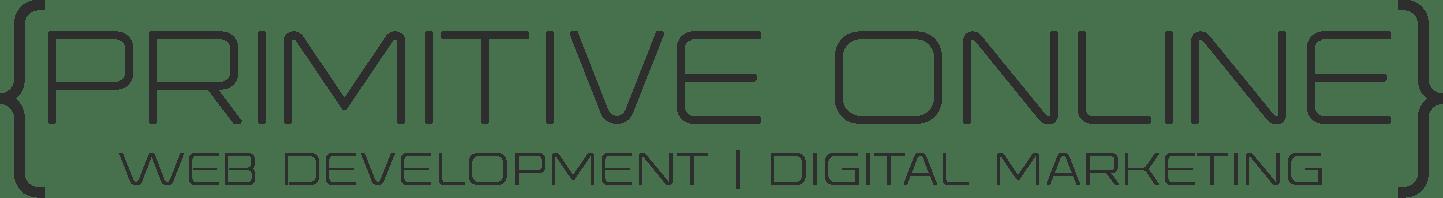 primitive online logo black