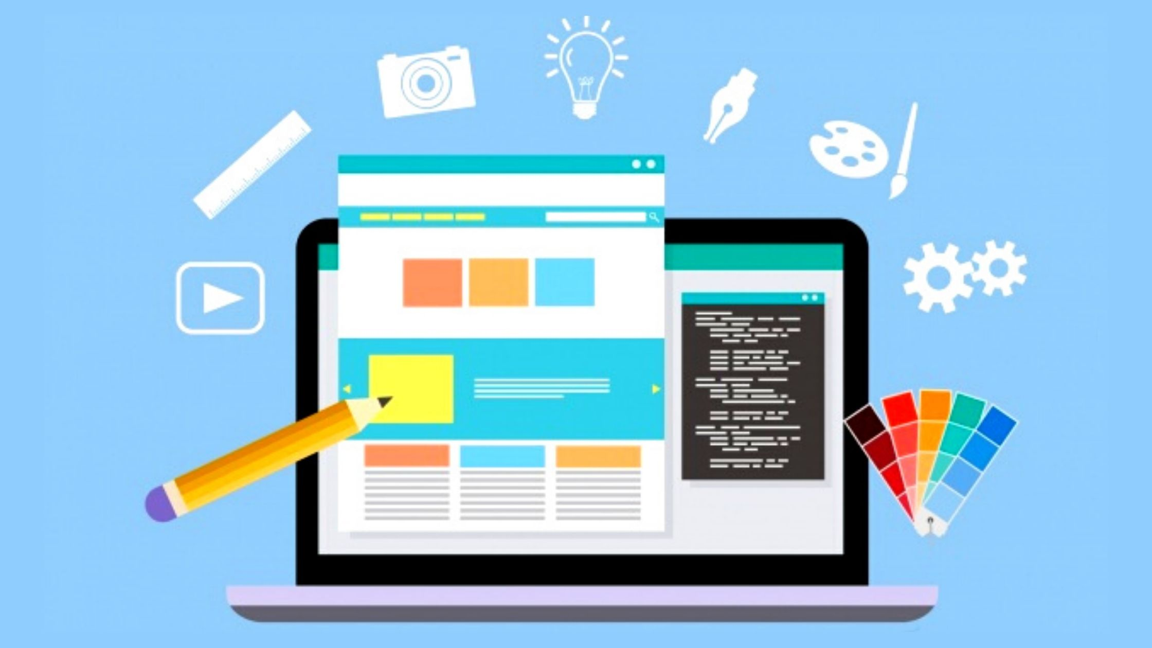 Create your own brand with web design